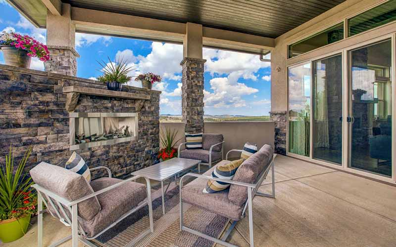 The Summit by Jayden Homes outdoor-living